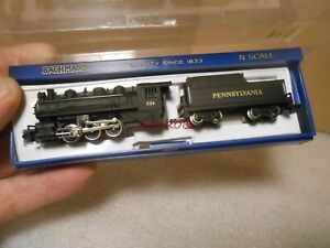 Bachmann Pennsylvania PRR USRA 0-6-0 Steam Locomotive & Tender N Gauge