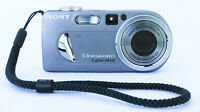Sony Sony DSCP10 DSC-P10 Cyber-shot 5MP Digital Camera w/ 3x Optical