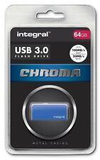 Pendrive blu Integral da 64 GB