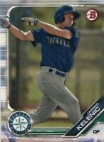 2019 BOWMAN PROSPECTS RC JARRED KELENIC SEATTLE MARINERS ROOKIE - A1782