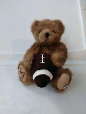 """Boyd Bear 10"""" Football Moveable Legs And Arms 1988-2007 O4"""