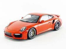 PORSCHE 911 991 II TURBO S 2016 LAVA ORANGE MINICHAMPS 110067120 1/18 504 PIECES