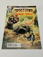 Marvel 2 In One #2  Thing and the Human Torch - Fate of the Four Marvel Comics