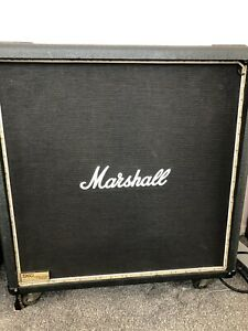 Marshall 1960b cab - Unloaded, with LED Strip.