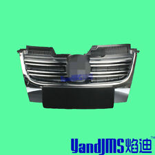 Chrome Front Bumper Radiator Center Grille Grill For VW Jetta MK5 05-10 Sedan