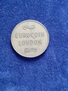 Very Rare Eurocoin London Token