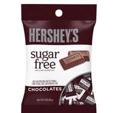 Hershey's Sugar Free Milk Chocolate Candy Travel Ind Wrapped