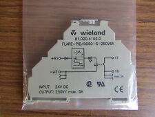 Weiland SPST Módulo de Relé de interfaz de riel DIN montaje en superficie, 6A - 3414862