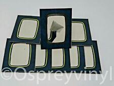 "#40 10x Strut Mount Blue/Gold Marble 2.5x3.5"" Photo Presentation Frame School"