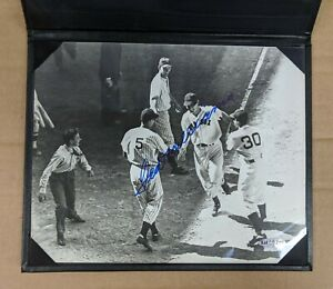 TED WILLIAMS Boston Red Sox Signed 8x10 Picture Photo Autograph Upper Deck COA