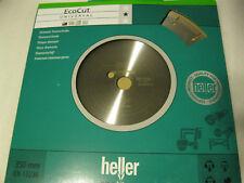 HELLER Disco de corte de diamante ECOCUT 350 x 25,4 Universal
