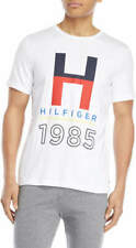 Bnew TOMMY HILFIGER Graphic Logo Crew Neck Mens T Shirt, Small