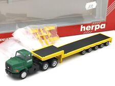 HERPA PROMOTEX HO 1/87 CAMION FORD SEMI REMORQUE PORTE CHAR T-WRECKS #6173