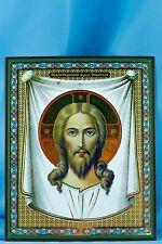 The Holy Face  Our Savior  Jesus Christ Icon Исус Кристос  Икона 10X12 Cm