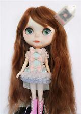 1/6 bjd Blythe doll bjd 25-28cm head copper brown color synthetic wig