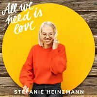 Stefanie Heinzmann - All We Need Is Love CD NEU OVP