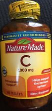 Nature Made Vitamin C 1000 mg, 300 Tablets, Helps Support the Immune System