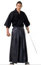 Traditional Japanese Men Samurai Kimono Costume Kendo set Kendo Gi&Hakama Pants