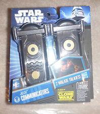 Star Wars THE Clone Wars Jedi Communicators 2 Walkie Talkies Hasbro 2010 NEW/NIB