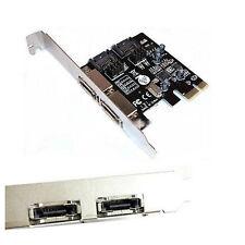 PCI-E Express SATA3 SATA3.0 6.0 Gb/s eSATA SATA III Controller Card Adatper