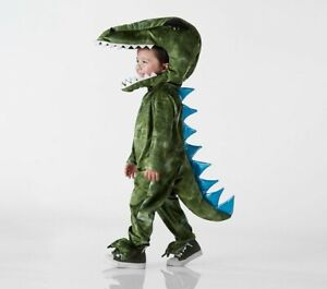 Pottery Barn Kids Halloween costume Light Up T rex Dinosaur 3T  New