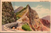 The Pali Honolulu Hawaii Vintage Postcard 1933 - *Free Shipping*