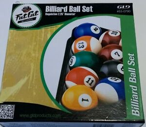 FAT CAT POOL BALL SET REGULATION SIZE BRAND NEW FREE SHIPPING FREE TIPS! WOW