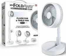 MY FOLDAWAY FAN - Rechargeable Ultra Lightweight Portable Compact Fan BRAND NEW