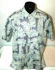 Cooke Street Honolulu 100% Cotton Aloha Hawaiian Camp Shirt Men's Size XL Palms