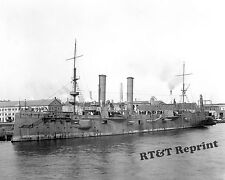 Photograph of the Battleship USS Chicago Year 1899c  8x10