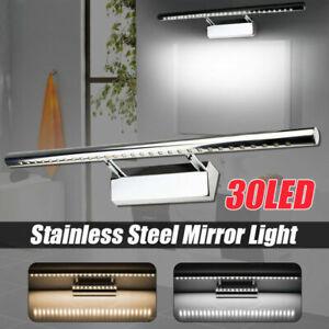Modern 30LED Mirror Wall Light Bedroom Hallway Bathroom Vanity Front MakeUp A1S8
