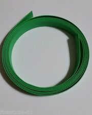 3/8 inch ID / 9mm NTE GREEN 2:1 Ratio Heat Shrink tubing - 9' section 3 Meters