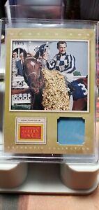 Museum Age Ron Turcotte (Jockey) Memrobillia Card