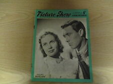 April 1957, PICTURE SHOW, Betta St John, Martha Hyer, Vic Damone, James Dean.