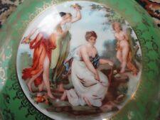 Victoria Czech Porcelain Victorian Covered Bowl Jardinier Unique Antique Vintage