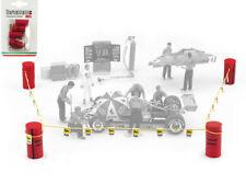 Formel 1 set paddock limits Agip 1:43 Modell F096 BRUMM