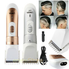 Rechargeable Electric Clipper Trimmer Men Beard Haircut Grooming Shaver Razor