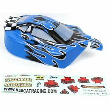 Red Cat Racing RER02399 1/10 Buggy Body Blue Flame Tornado Epx/Epx Pro
