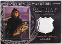 Gotham Season 1 Wardrobe Costume Card Selina Kyle Catwoman Camren Bicondova M15