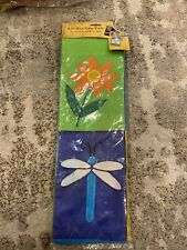 3 -Garden Spring Mini Flagsready for Flag Pole