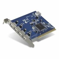 Digiconnect by Belkin USB 2.0 Hi-Speed 5-Port PCI Card, NEC Chipset, Retail P...