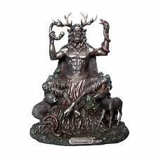 Ander Cernunnos Herne horned god statue figurine ornament 23cm