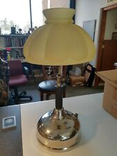 1920s Coleman gas lamp with globe