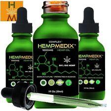 HempMedix™ 1000 mg Natural Full Spectrum Hemp Oil 1 fl oz - 99% Pure Hemp Oil