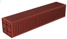 O27 S 1:64 Scale 40 Foot Shipping Container Red