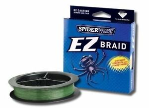 Spiderwire EZ Braid Fishing Line Moss Green 300YDS Choose Your Size!!
