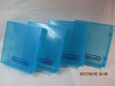 Original NES Nintendo Cartridge Case 1 Individually Sold Blue Plastic Game Case!
