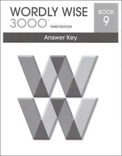 Wordly Wise 3000 Grade 9 Key **3rd Edition**