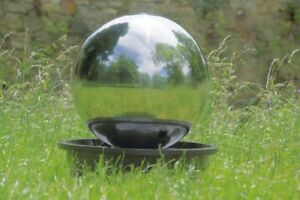 V2A Floating Sphere Fountain Garden Fountain Ball Ornamental Fountain