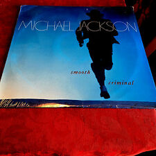 "MICHAEL JACKSON - SMOOTH CRIMINAL - 12"" VINYL SEALED 1988 PIC COV 1ST PRESS MINT"